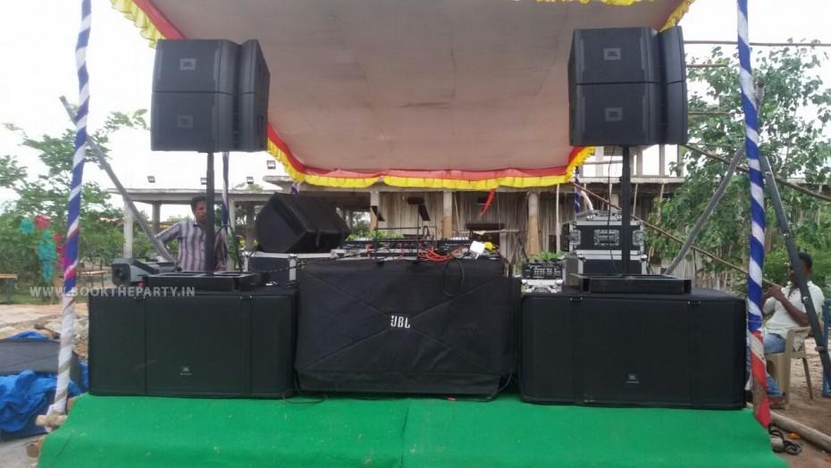 Double Bin DJ Sound System