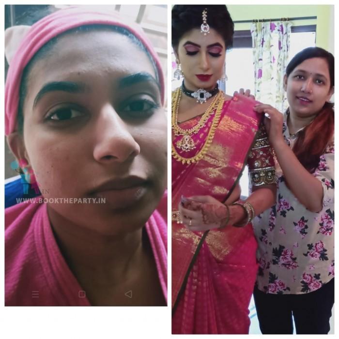 Air Brush Asian Bridal Make-up with MAC Products