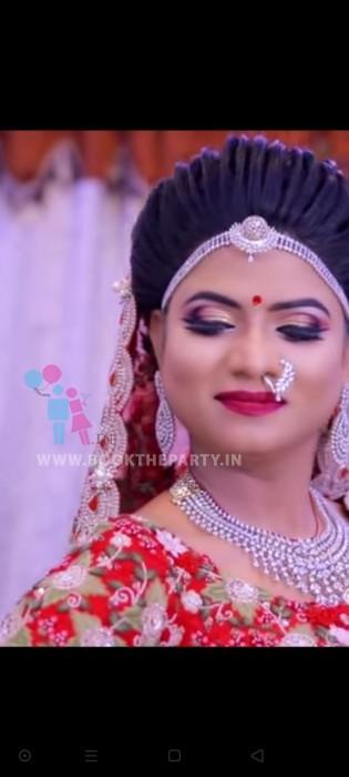 Air Brush North Indian Bridal Make-up with IWATA Products