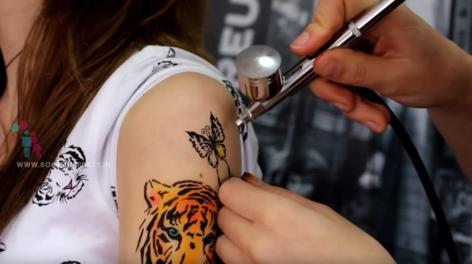 Spray Tattoo