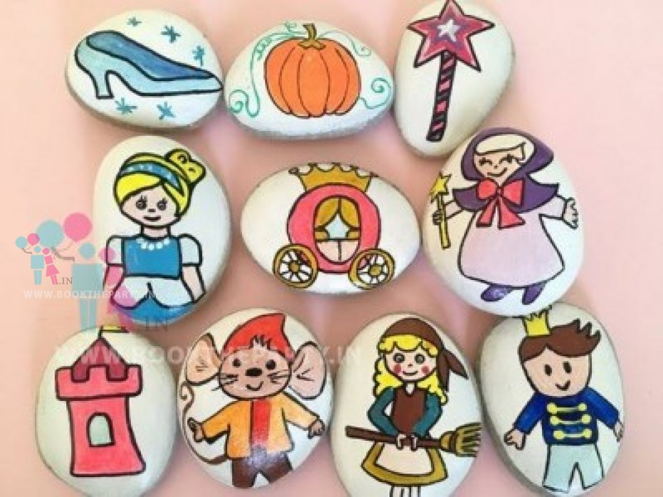 Stone Painting Activity For Kids