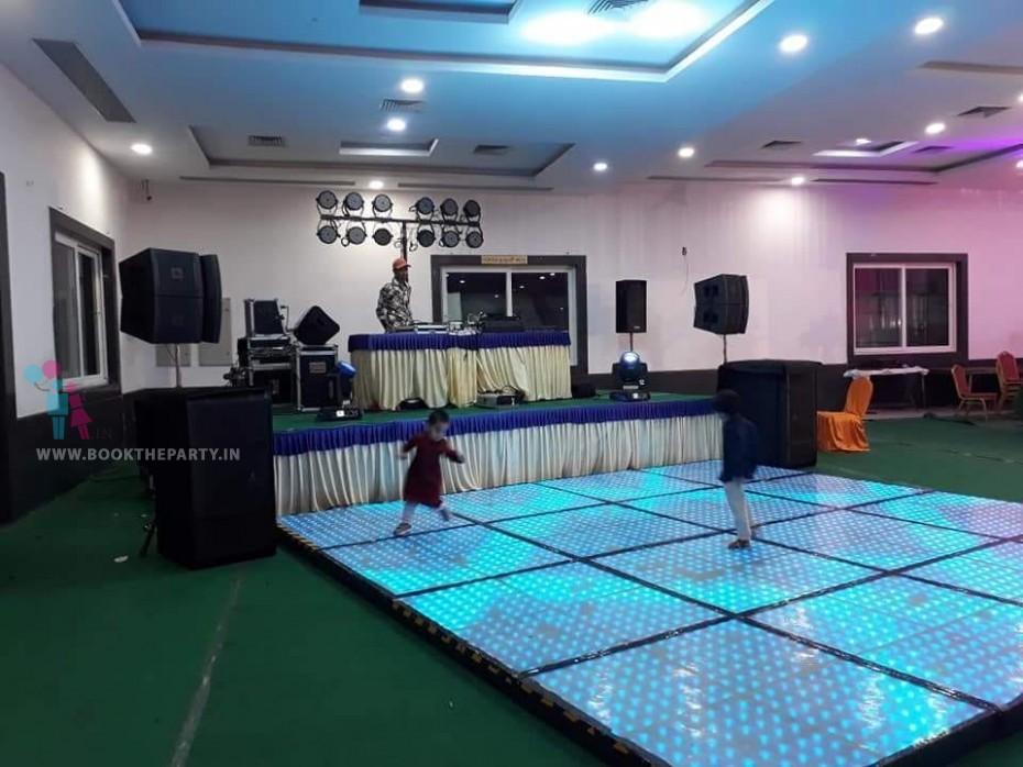LED Pixel Dance Floor