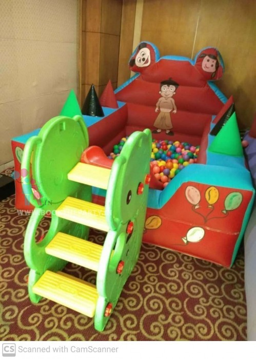 Ball Pool with Inflatable Side-wall