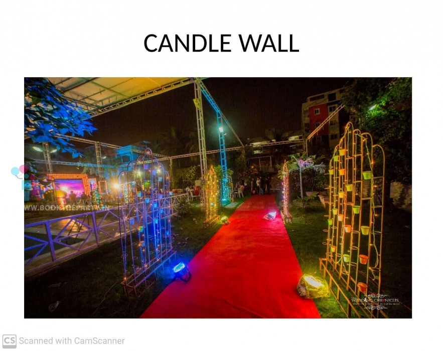 Candle Wall