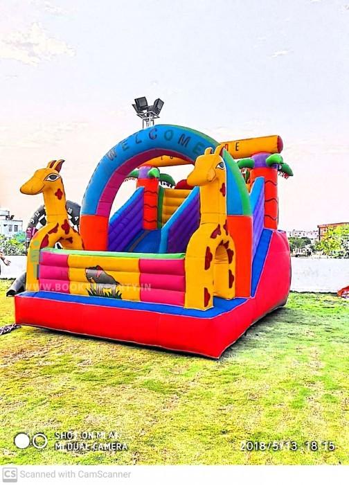 Giraffe Bouncy with Slider 10 x 15