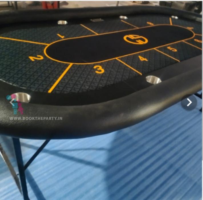POKER FLUSH MULTI FOLDING TABLE GAME