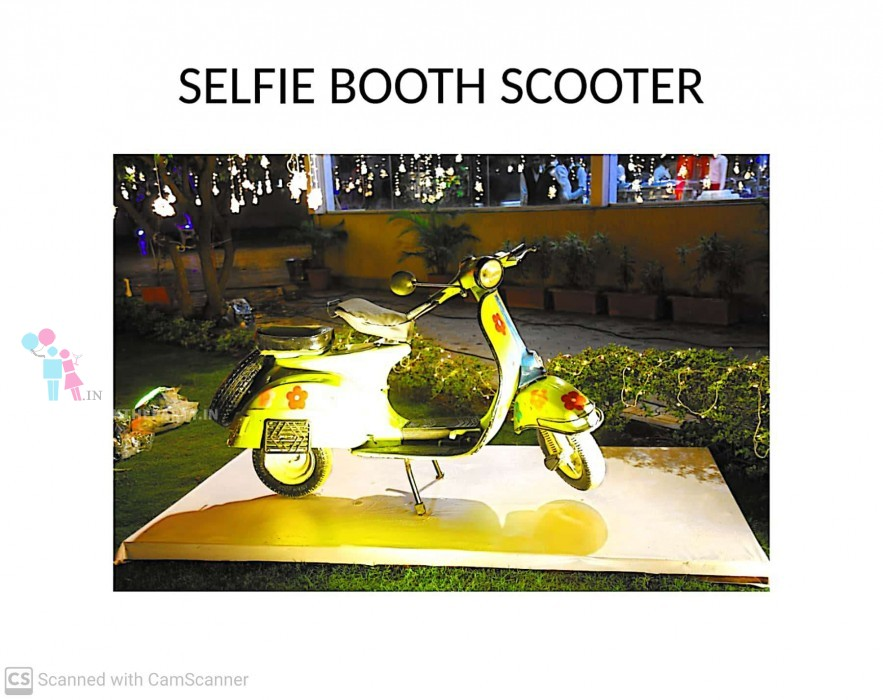 Selfie Booth Scooter