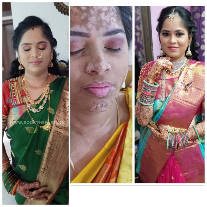Air Brush South Indian Make-up with IWATA Products