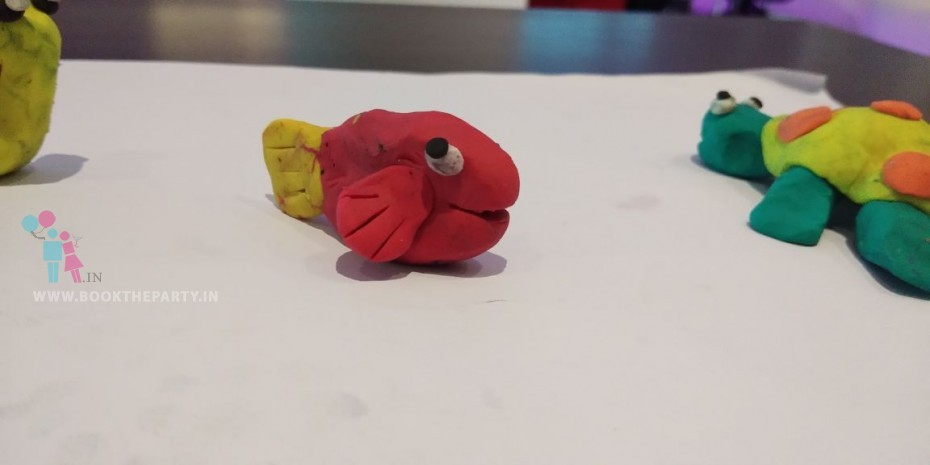 Colour Clay Modelling