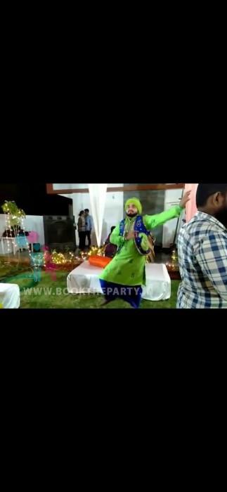 Punjabi Dhol with Bhangra Dance
