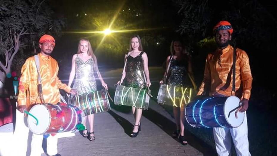 LED Rajasthani Dhol