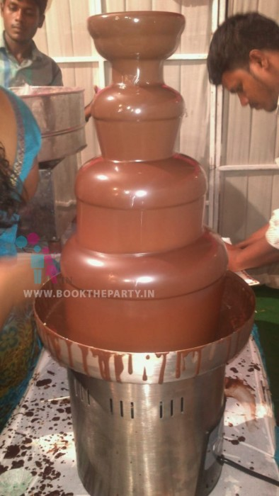 Chocolate Fountain Big 5 Layers - Unlimited