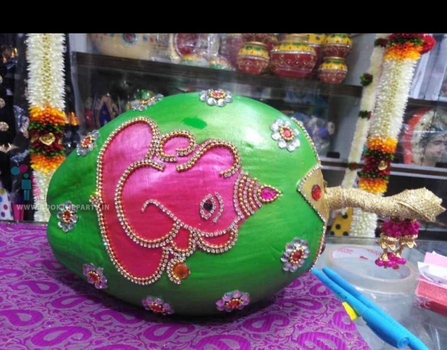 KB with Ganesh Design